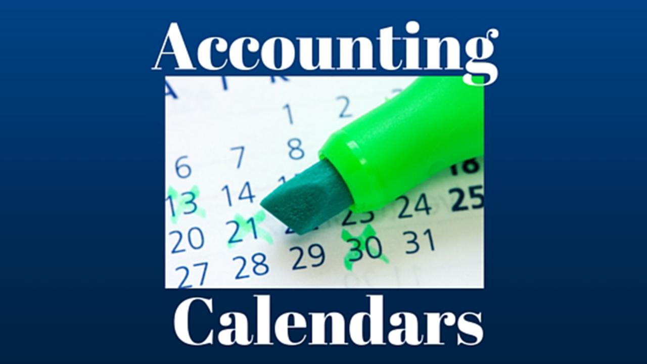 Accounting Calendar