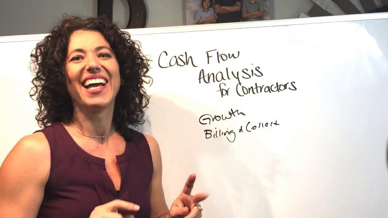 Cash Flow Analysis for Construction Contractors