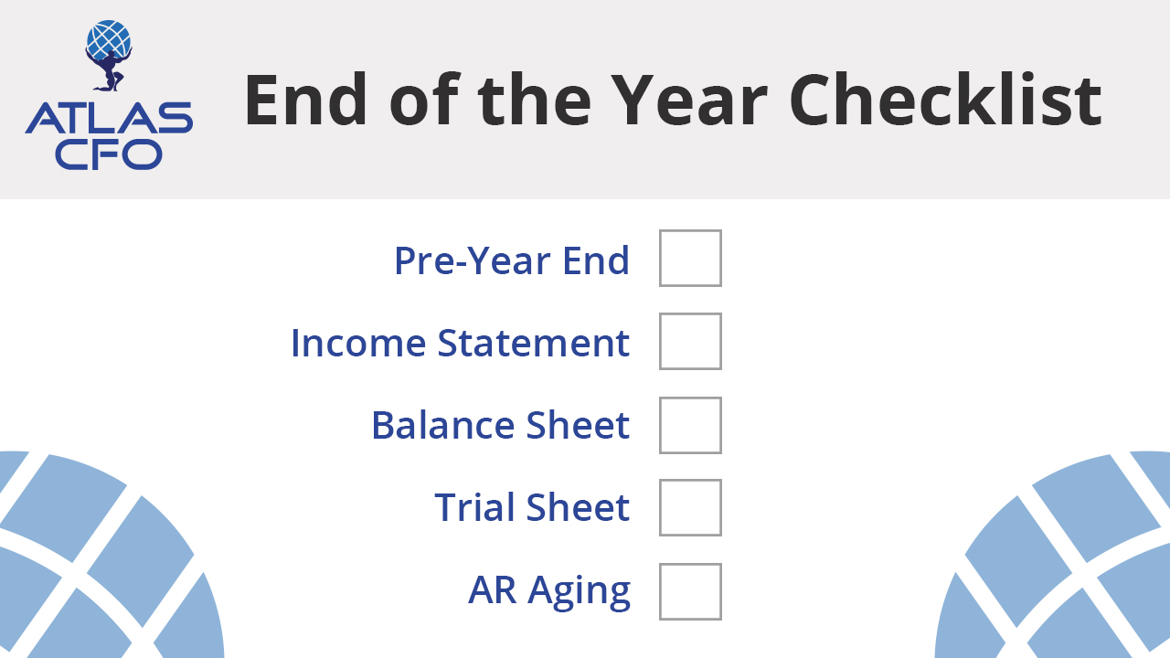 Year End Checklist For Contractors