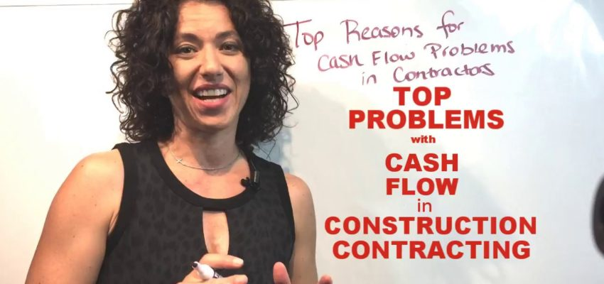 Top Problems with Cash Flow for Construction Contracting