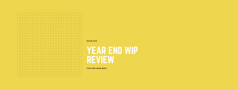Year-end WIP Review